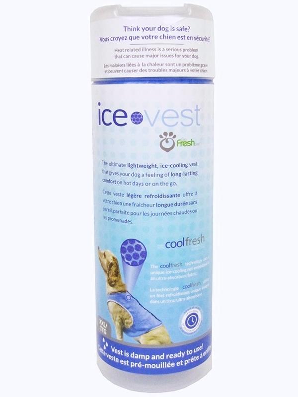 Go Fresh Dog Ice Vest